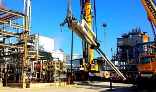 oil and gas refinery projects